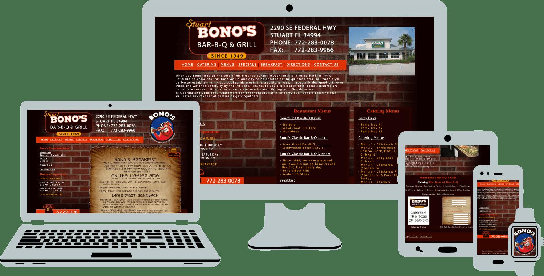 Bonos Bar-B-Q And Grill