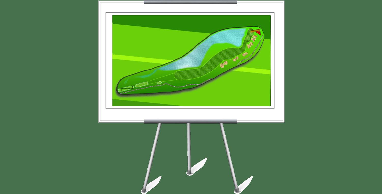 Golf-Illustration