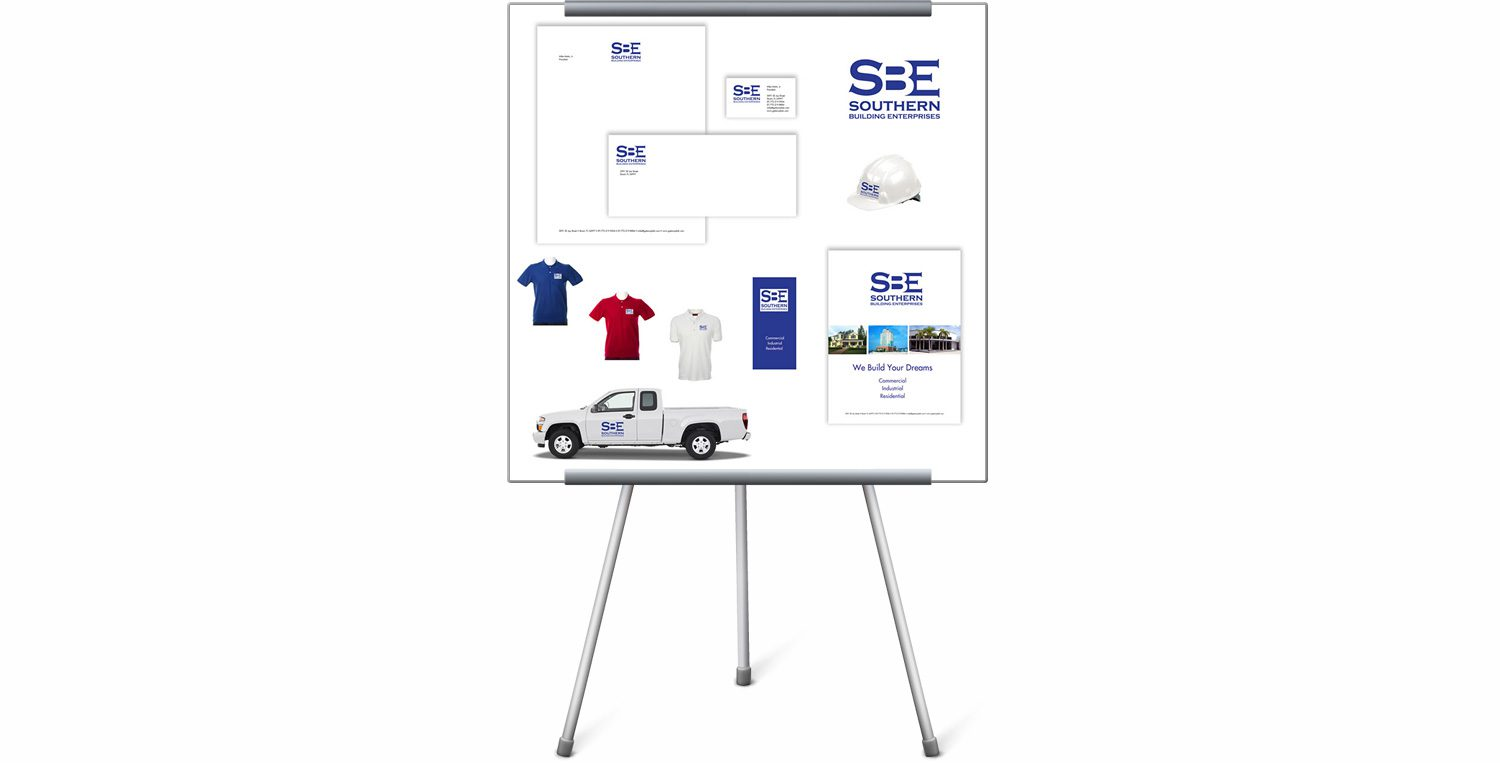 Southern Building Enterprises Branding