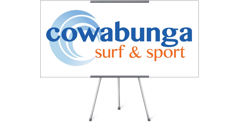 Cowabunga Surf & Sport Logo