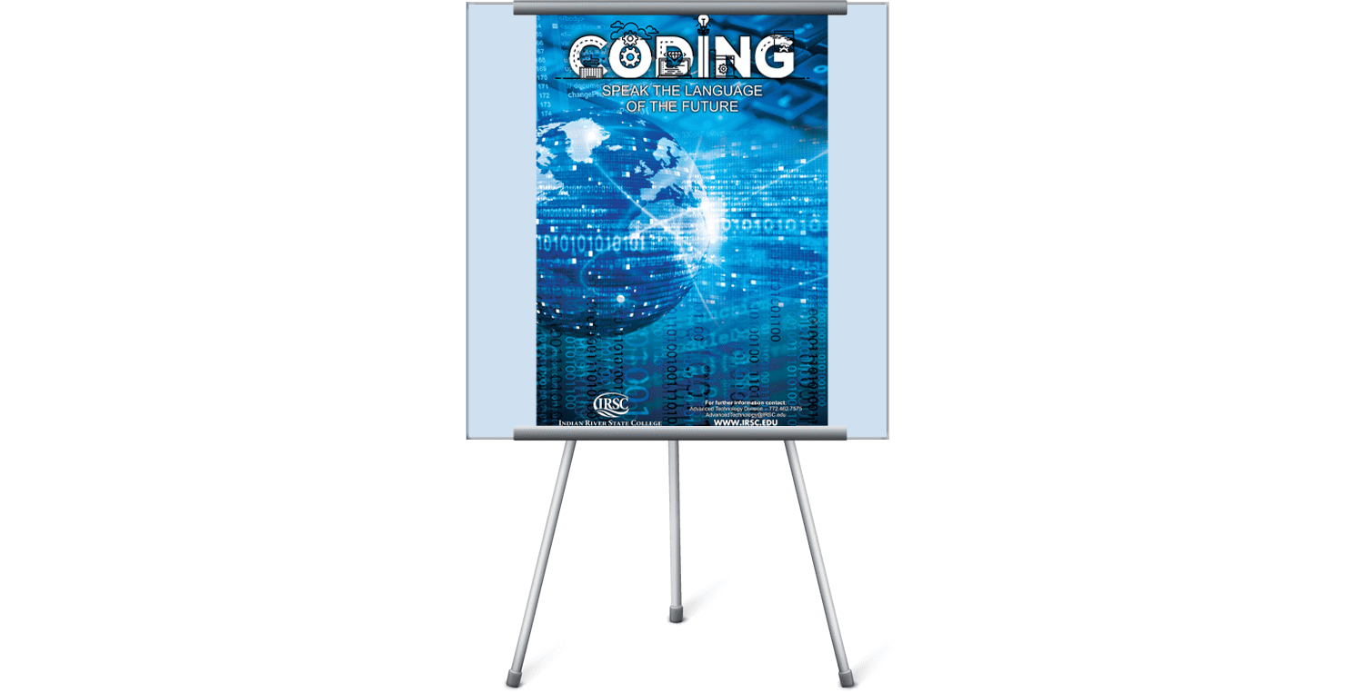 coding poster